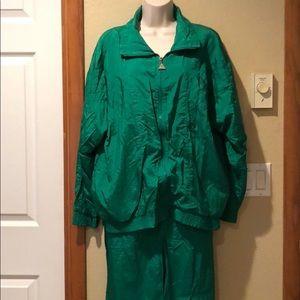 Vintage jogger suit